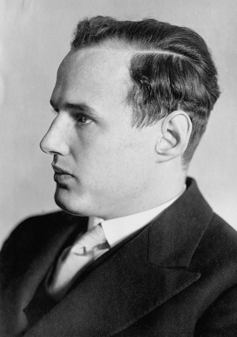 Barão Manfred von Ardenne na juventude