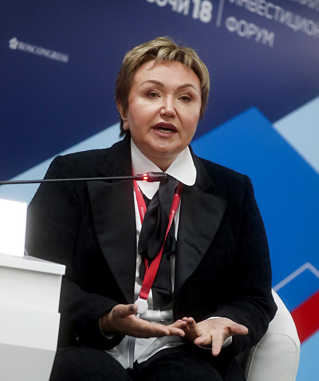 Rusija. Soči, 16. veljače 2018. Predsjednica vijeća direktora Z.A.O.