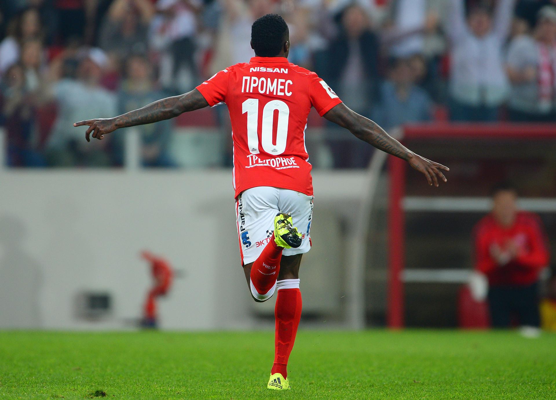Gelandang kelahiran Belanda, Quincy Promes, merupakan pemain asing yang luar biasa di Liga Primer Rusia. Ia telah mencetak 58 gol dalam 115 pertandingan untuk Spartak Moskow.