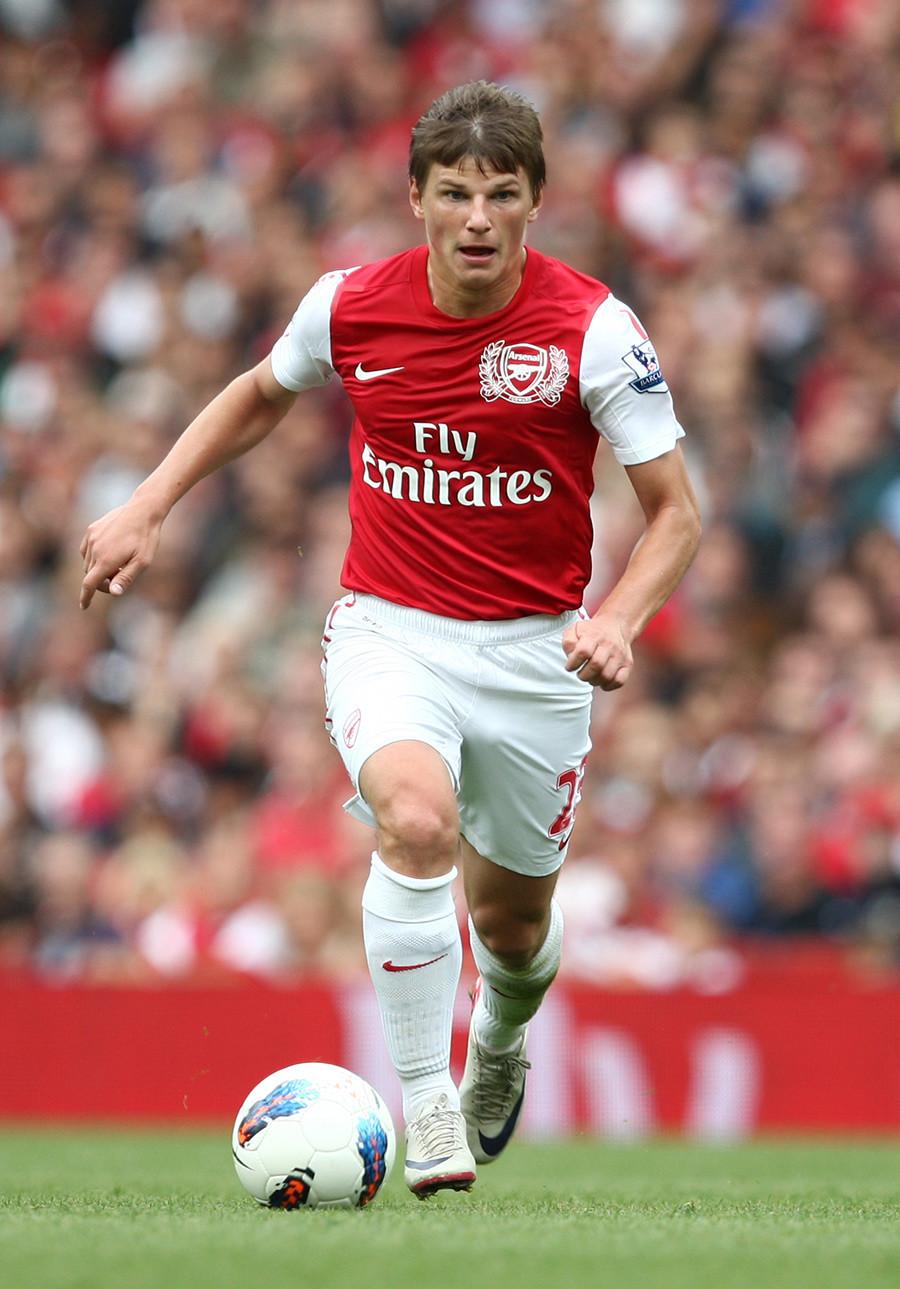 Andrei Arshavin, pemain Rusia terakhir di Liga Inggris, meninggalkan Arsenal pada 2013.