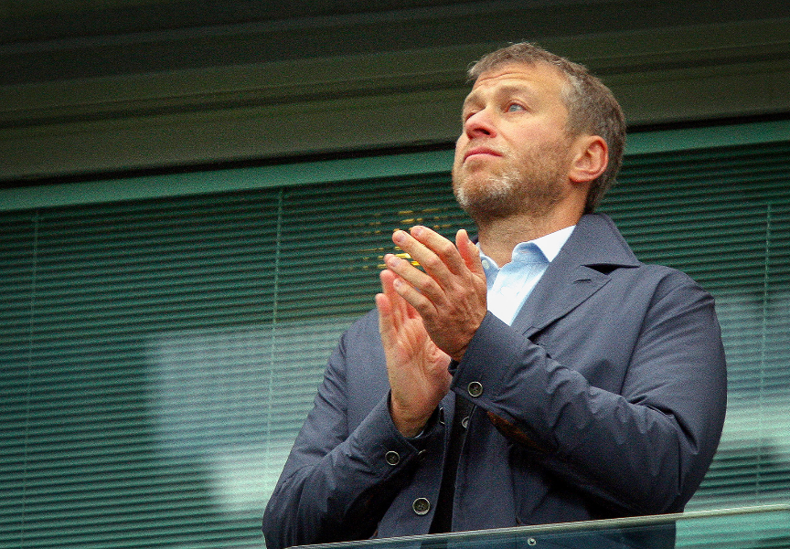 Roman Abramovič, lastnik kluba Chelsea.