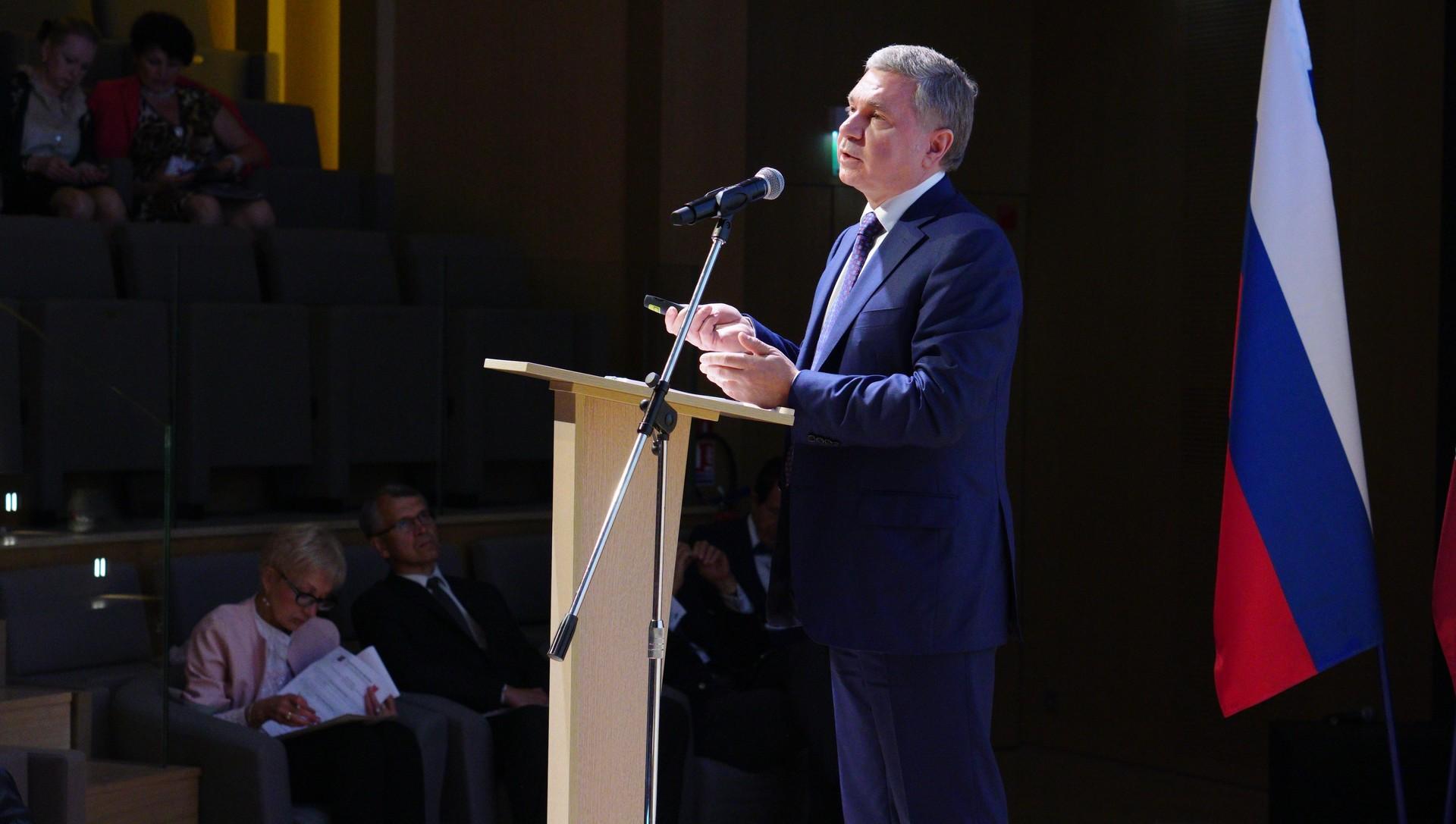 Sergueï Tcheriomine, ministre et chef du département du commerce extérieur et des relations internationales de la ville de Moscou