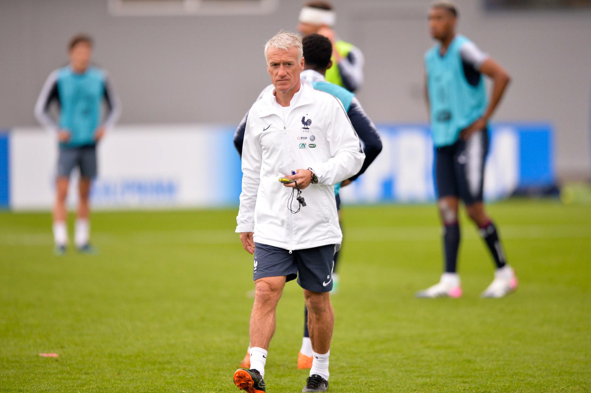 Didier Deschamps, le 12 juin 2018.