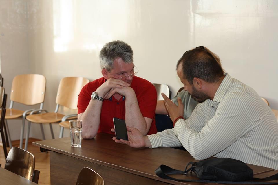 Александар Самокутјаев у разговору са нашим сарадником