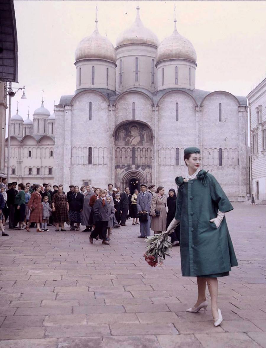 クリスチャン・ディオールのコレクション、モスクワ、1959年