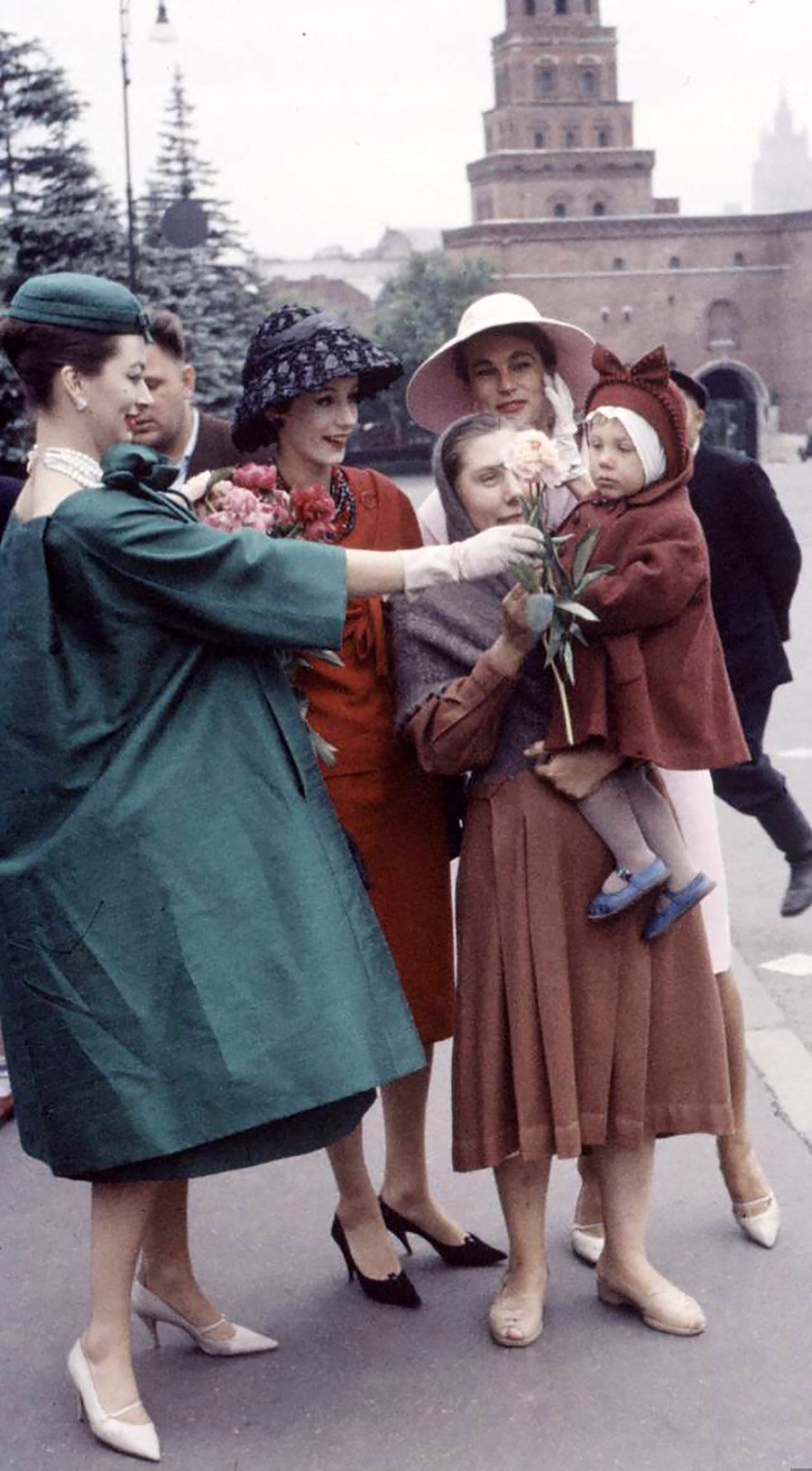 Christian Dior a Mosca, giugno 1959