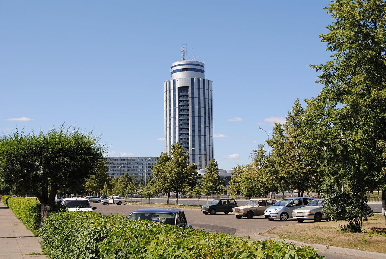 Poslovni center v mestu Naberežnije Čelni