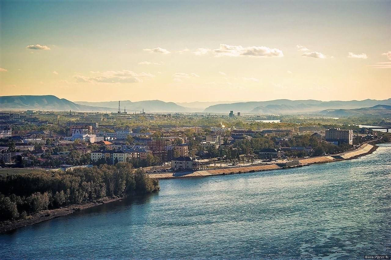 Prestolnica Kizil z višine