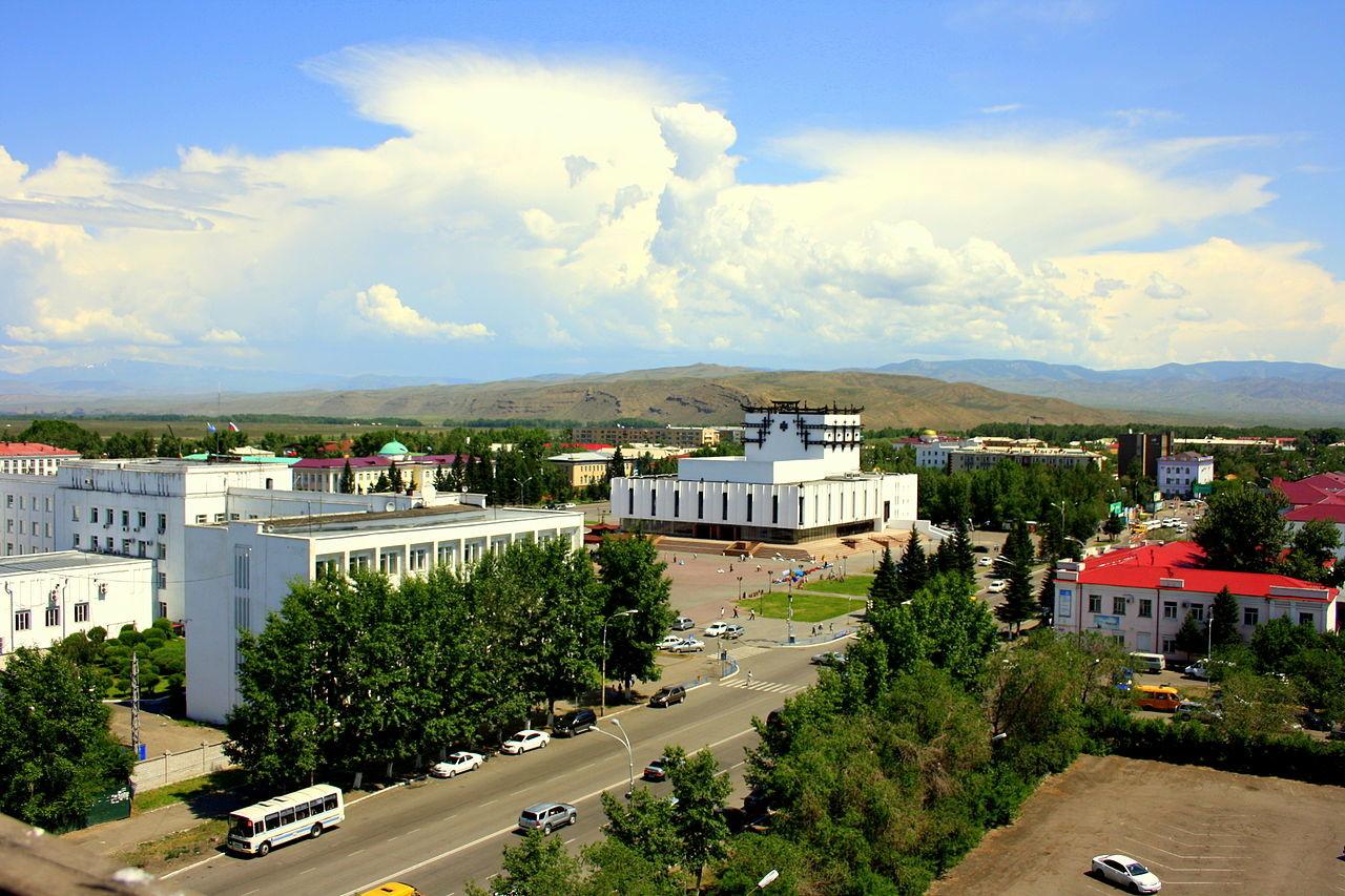 Republiška prestolnica Kizil