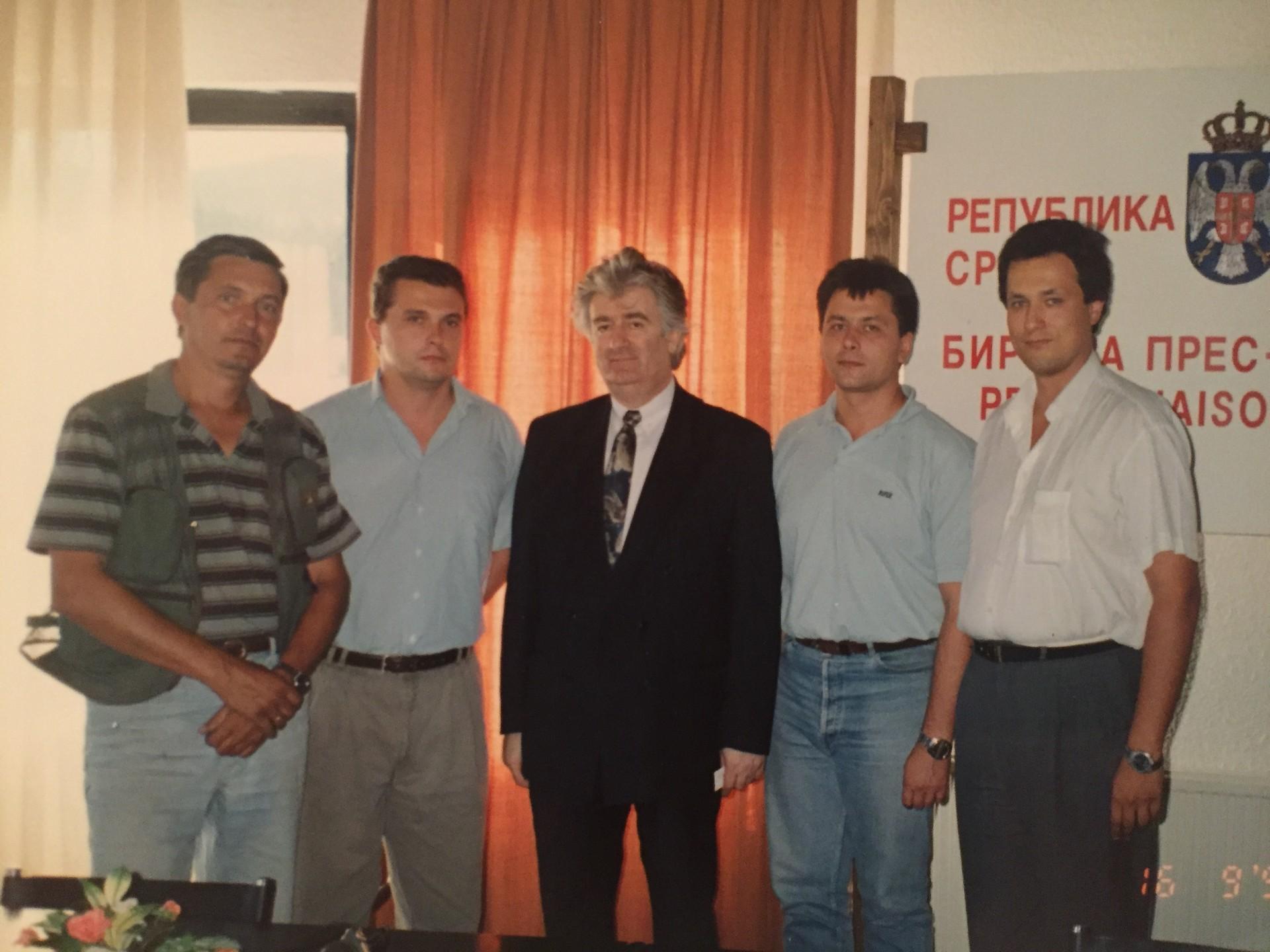 А. Кљан, В. Соловјов, Р. Караџић, А. Батурин, И. Иванов