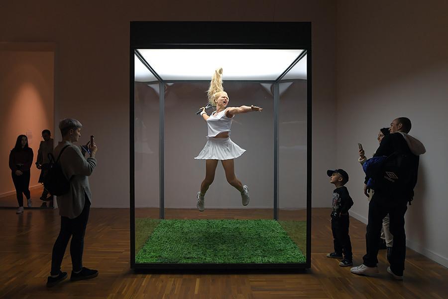Instalação na Nova Galeria Tretyakov