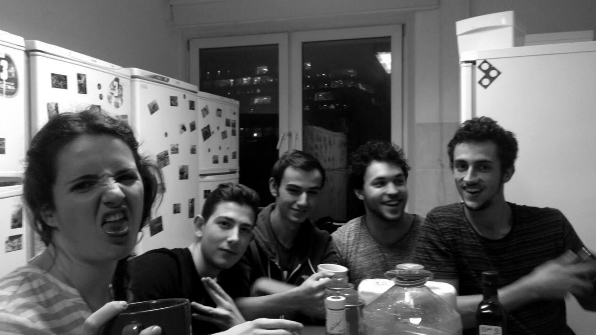 Agathe, Tanguy, Edgar, Victor, Yanis