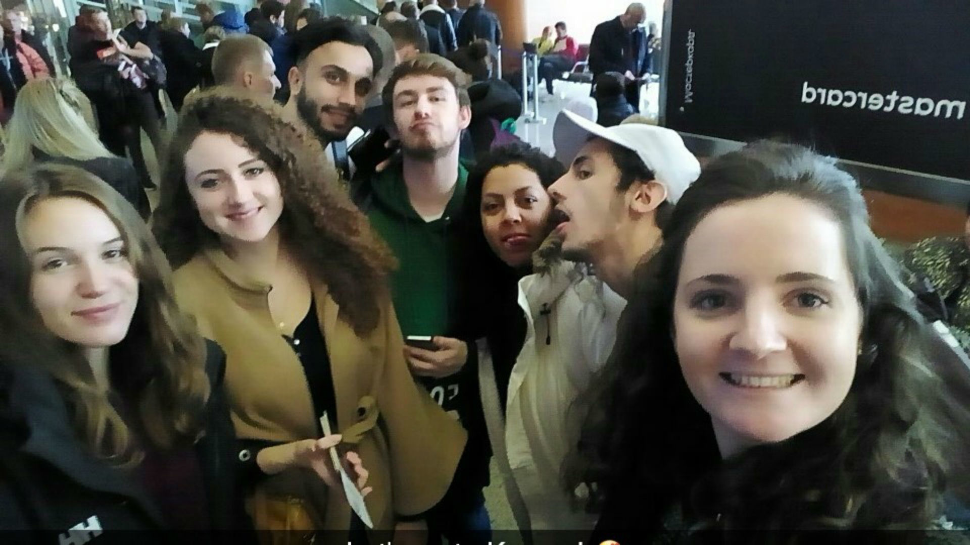 Nastia, Natacha, Hekmat, Jules, Vanella, Yanis et Agathe