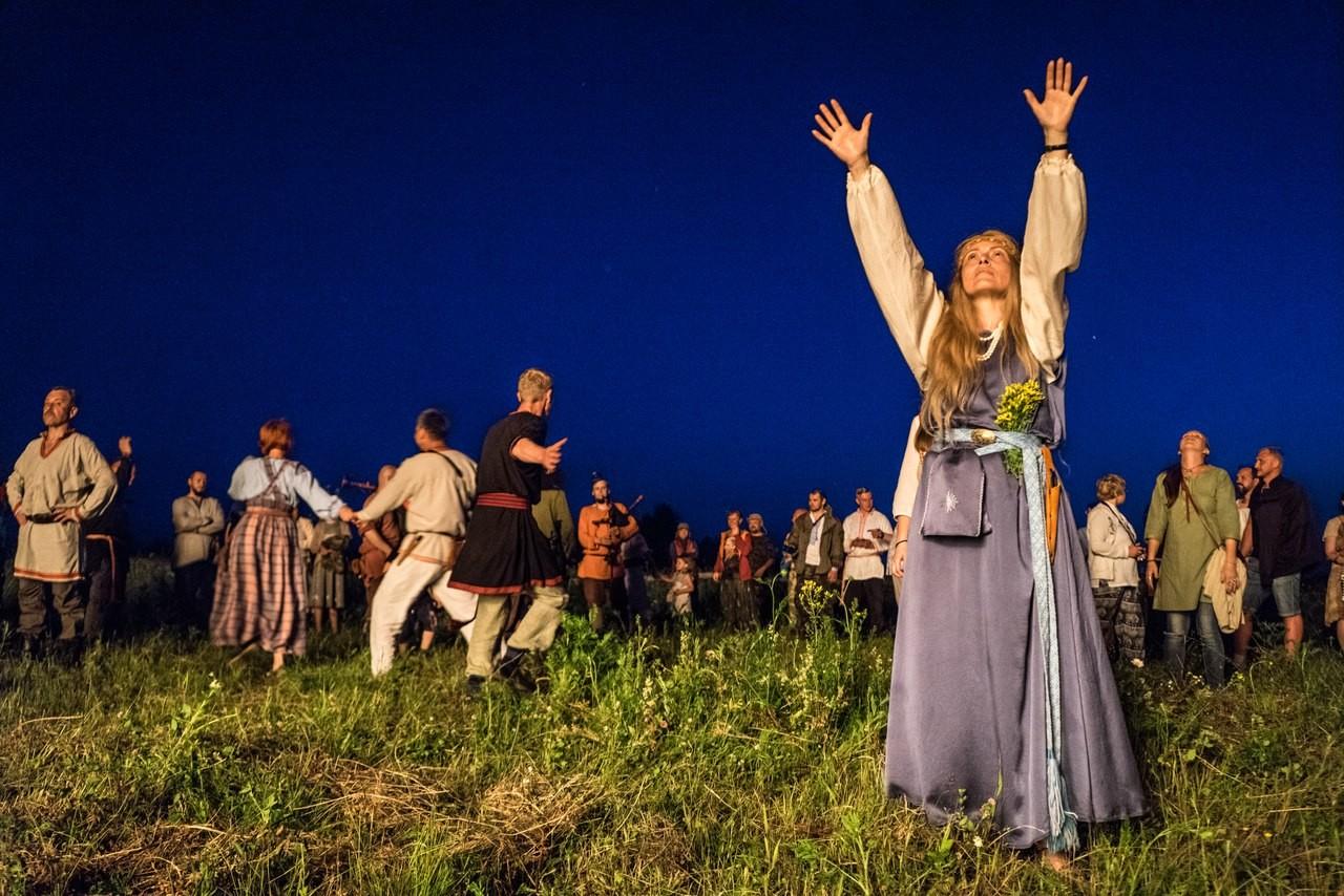 Pogansko kresovanje v Kalugi