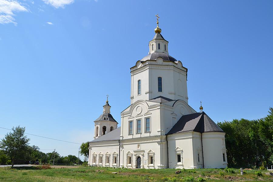 Iglesia Rátnaia, Starocherkáskaia Stanitsa.