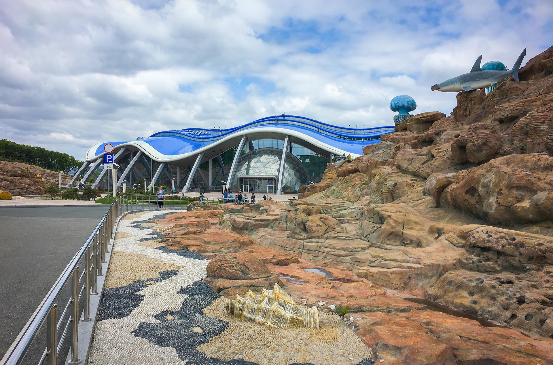 Oceanarium on Russky Island