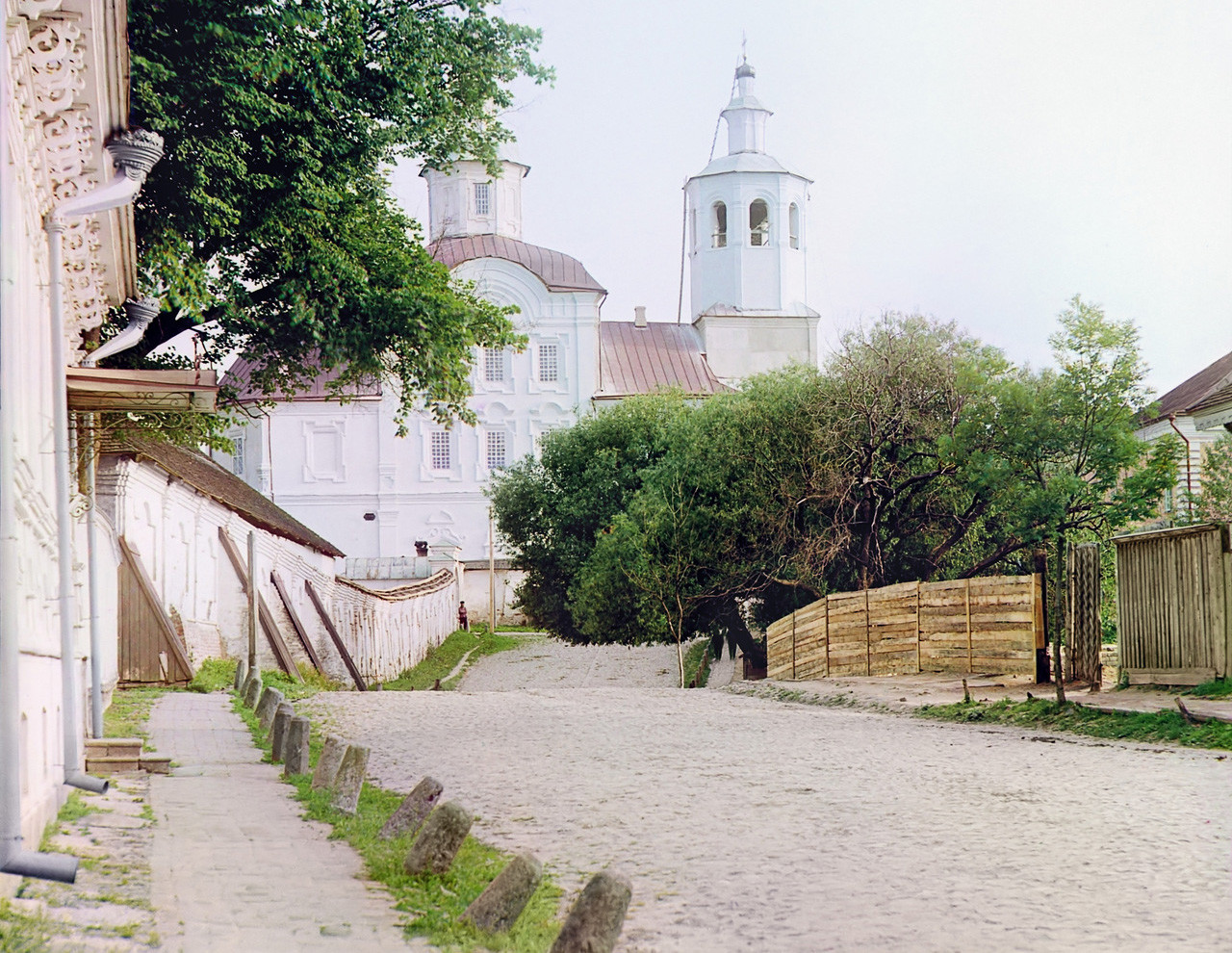 Monasterio de Avraamiev en la ciudad de Smolensk.