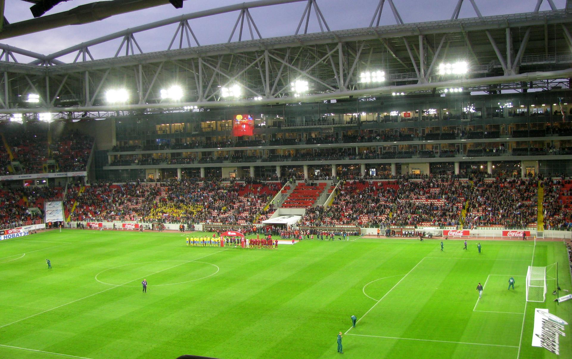 Spartak Stadium, Moscow