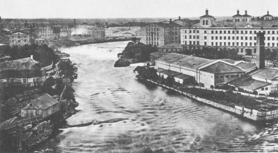Die Krähnholm Textilmanufaktur in Narva wurde von Ludwig Knoop im Jahr 1857 gegründet.