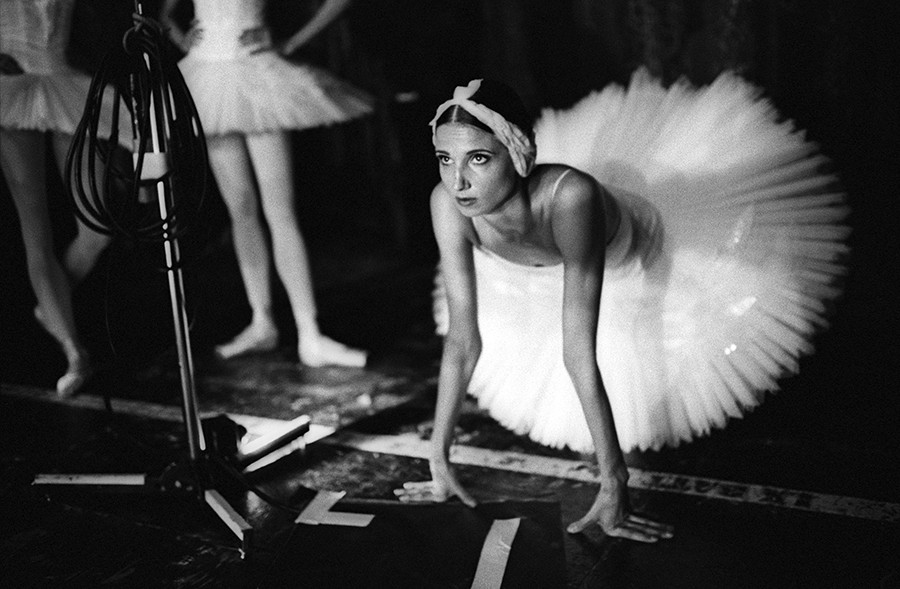 Swan Lake. Backstage. London, 2016