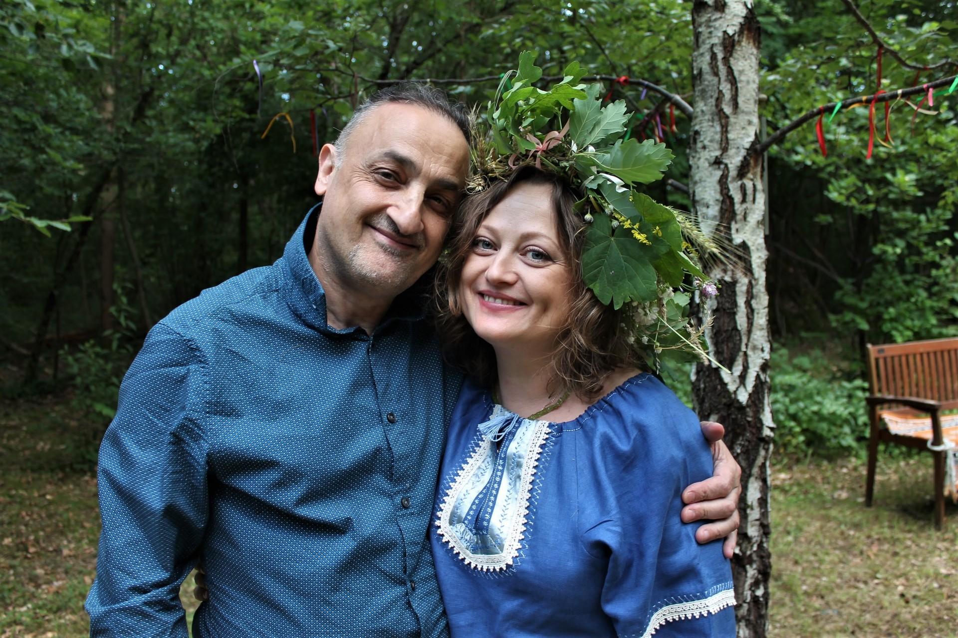 Olivier Korol et Ivanna Nechay