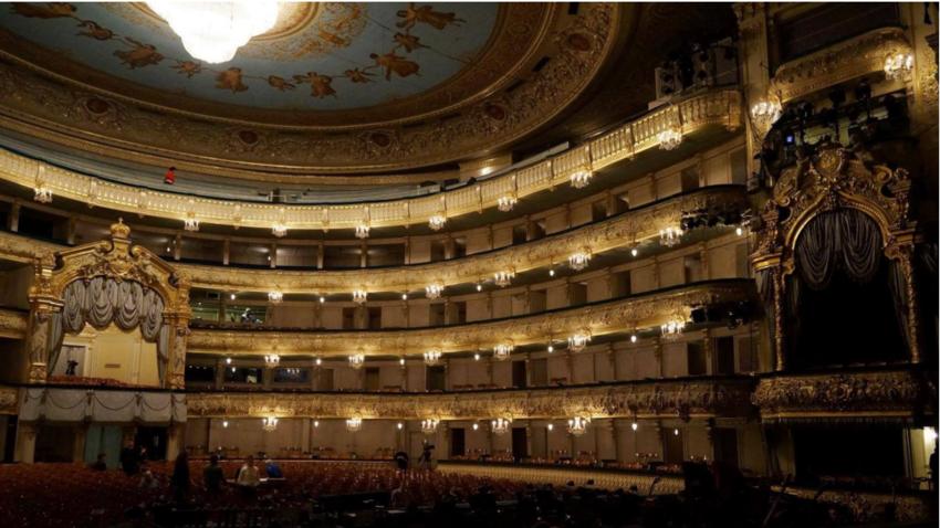 Mariinsko gledališče v Sankt Peterburgu