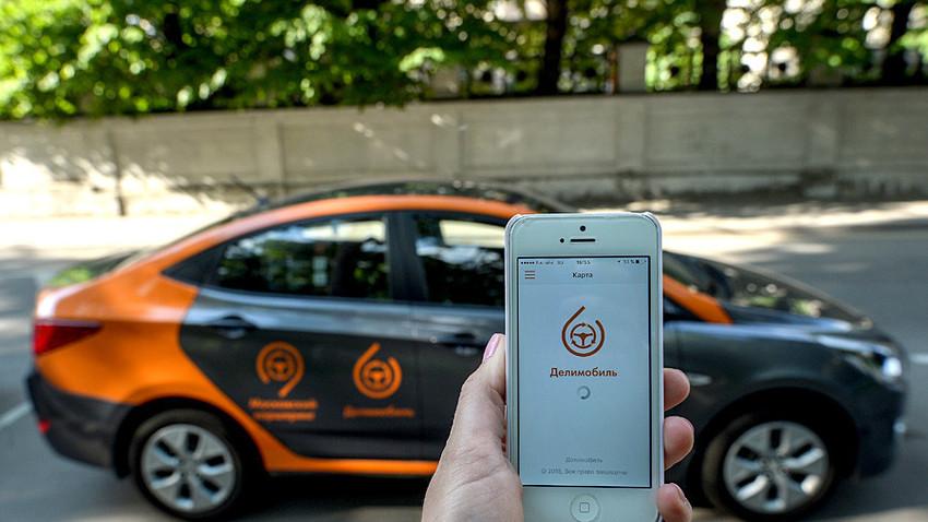 Delimobil Moscow, moskovska storitev za souporabo avtomobilov