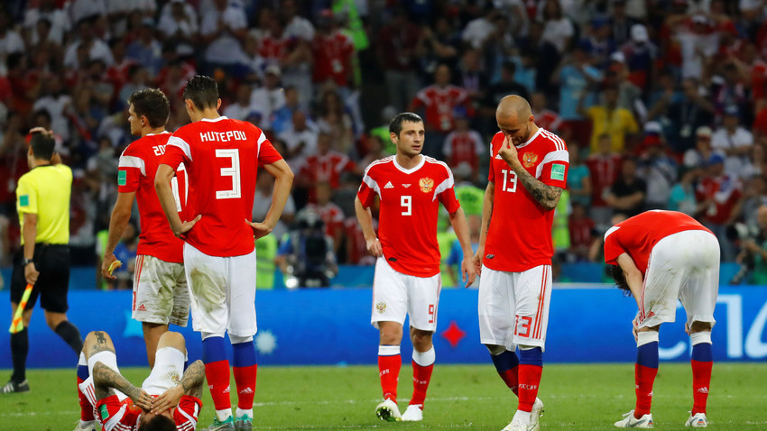 Хрватска је однела фер победу, али се репрезентација Русије показала у најбољем светлу на Светском првенству, чиме се поноси цела земља.