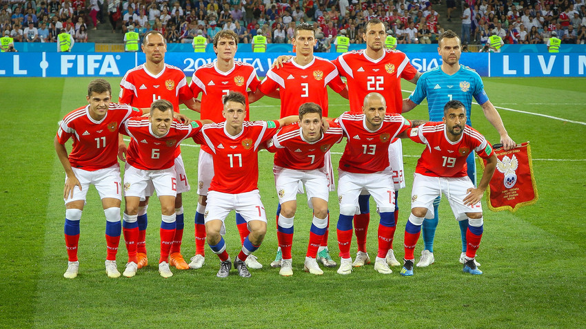 Национални тим Русије, 2018.