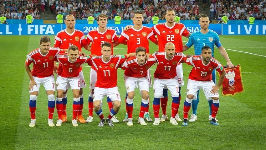 Ruska nogometna reprezentanca, 2018