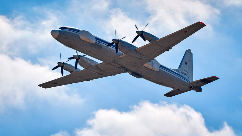 航空機Il-22「ポルプシチク」
