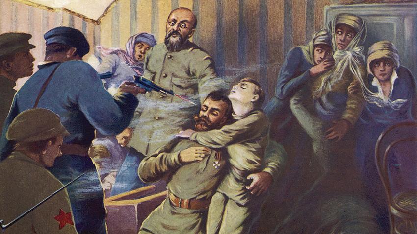 Егзекуцијата на царското семејство