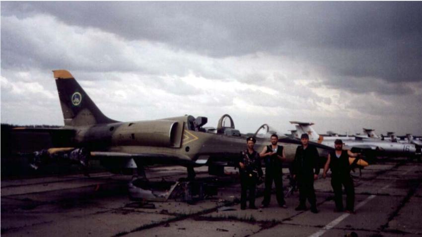 Pripadniki čečenskega letalstva, 1994