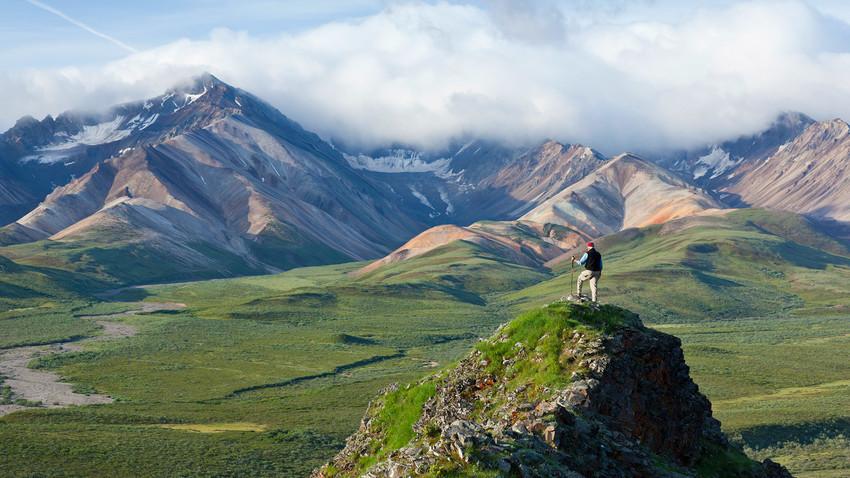 Пейзажи Аляски.