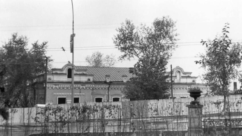 Ograjena Ipatjeva hiša, september 1977