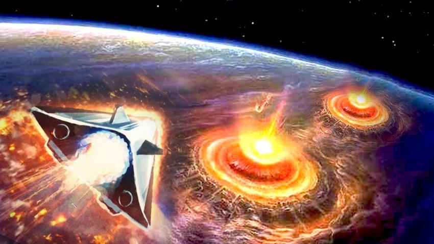 """Planirajući hiperzvučni bojevi blok """"Avangard"""" obušavat će se svoj cilj brzinom od 25 000 km/h."""