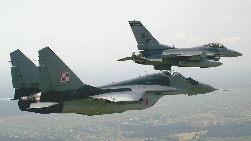 MiG-29 poljskih zračnih sil