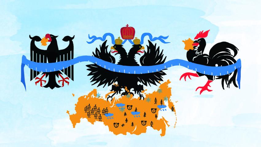 какую площадь занимает россия