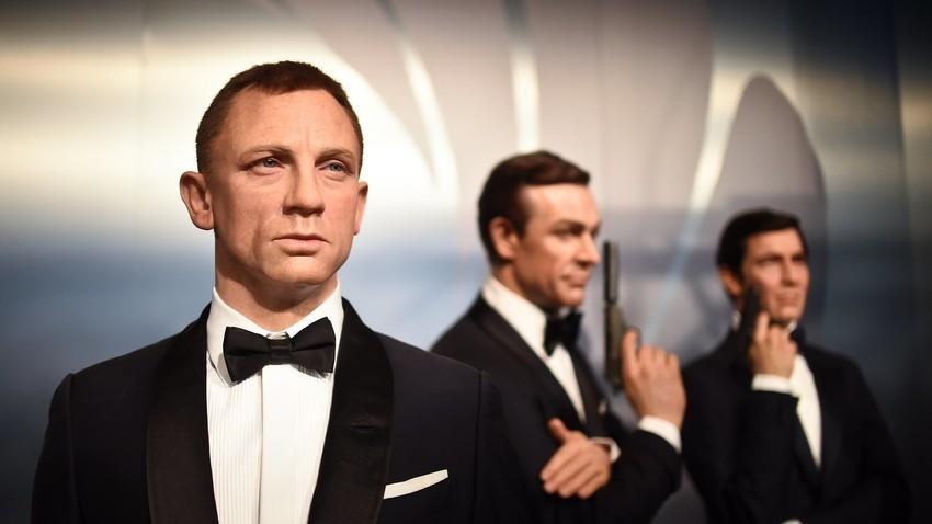 """Агенти 007 во музејот """"Mадам Тисо"""""""