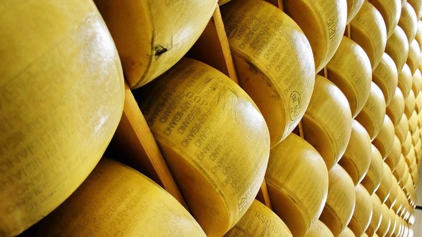 Ko se je na ruskem trgu zaprl dostop za italijanski parmezan, se je podjetnik Oleg Sirota spomnil, da bi lahko izdelovali rusko različico priznanega sira.