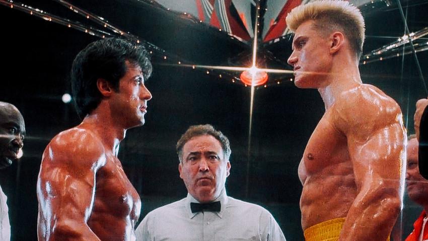 Adegan film 'Rocky 4'.