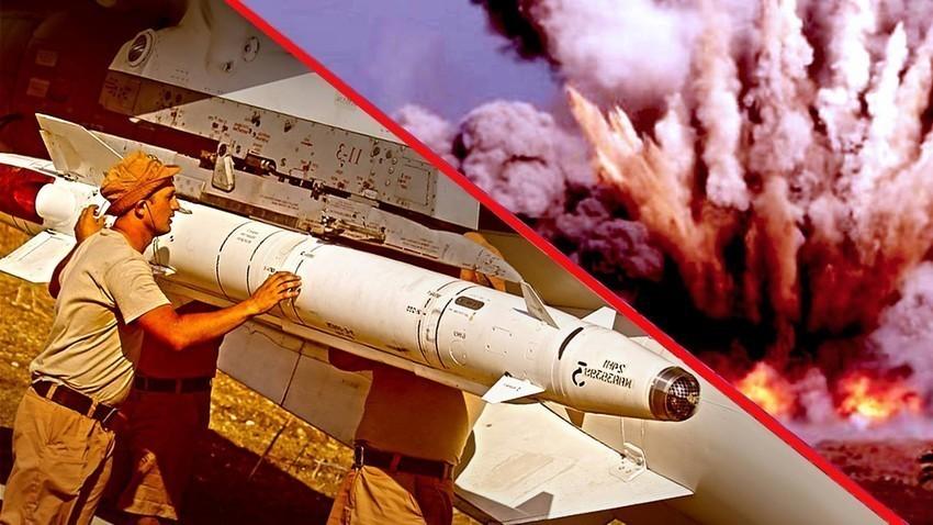 Raketa H-25MP tijekom operacije u Siriji