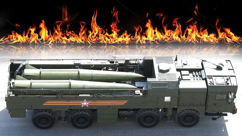 """Оперативно-тактическа система клас земя-земя """"Искандер-М"""""""