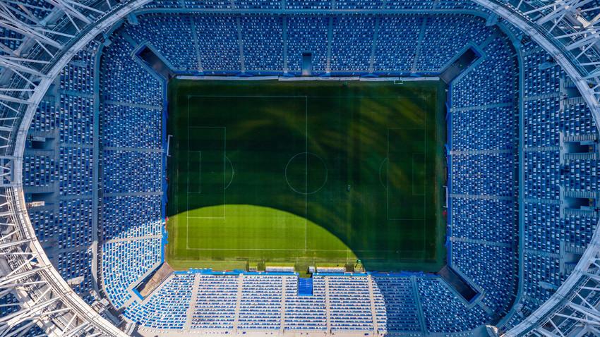 Stadion v Nižnem Novgorodu z zraka