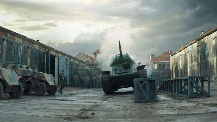 "Scena iz trailera za film ""T-34"""