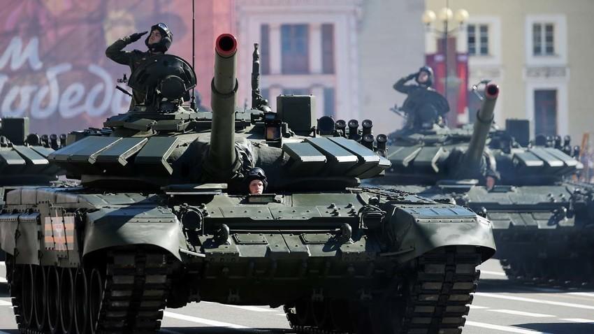 Основниот борбен тенк Т-72Б3