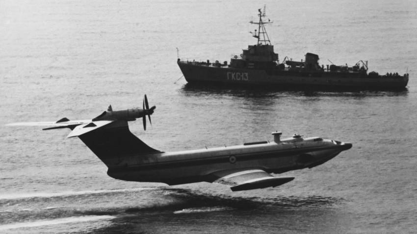"""""""Kaspijsko čudovište"""", sovjetski ekranoplan"""