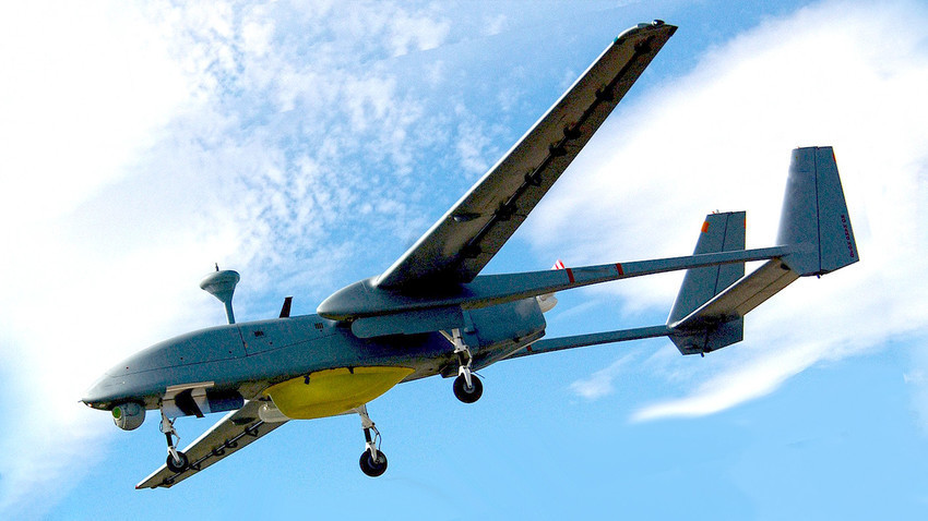 "Беспилотнo летaло ""Форпост"" (Searcher Mk II)"