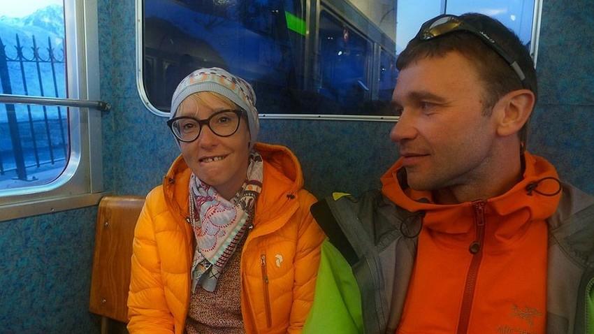 Ана Пијунова и Александар Гуков