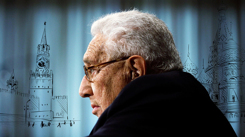 According to Kissinger, Russia is in an eternal quest for security and status